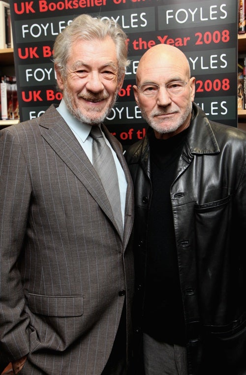 Magneto And Professor X Decide To Just Hug It Out