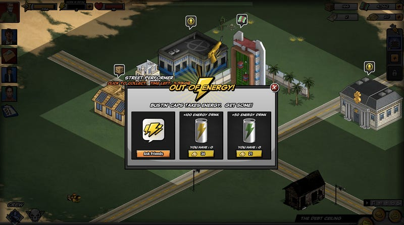 Mafia Wars 2 Hits that Annoying Wall in 39 Minutes, 30 Seconds