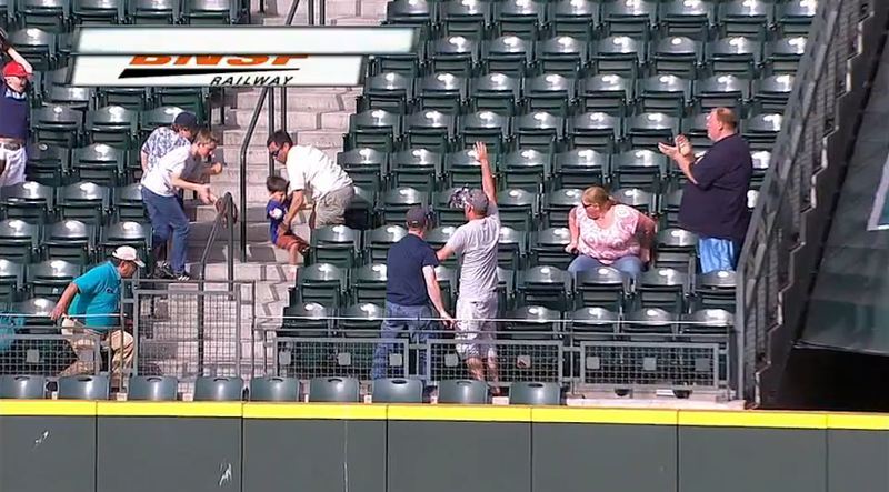 Guy Runs Over Kid Trying To Get Game-Tying Grand Slam In Seattle