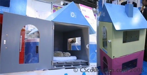 Oxygen Dog House: An O2 Buzz for You and Your Pooch