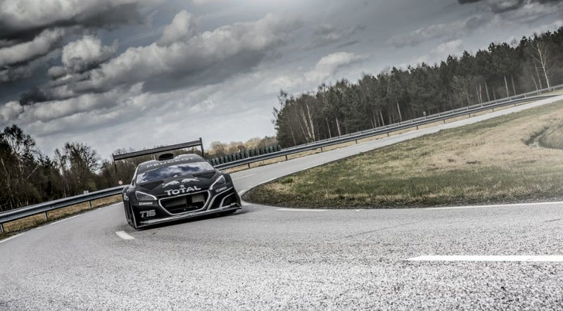 Preponderantly Powerful Pikes Peak Peugeot's Performance is Preposterous