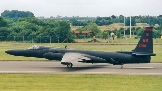 Did A U2 Spy Plane Shut Down SoCal's ATC Center?