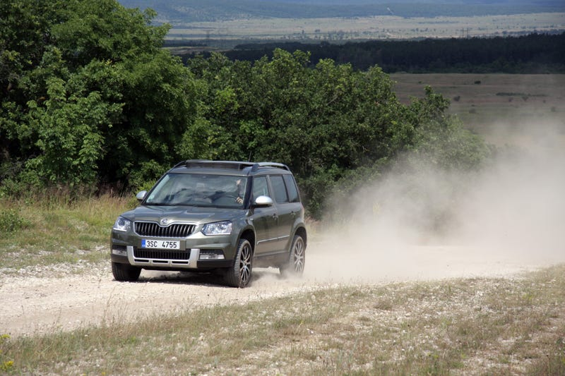 2014 Skoda Yeti Outdoor 4x4: The Jalopnik European Review
