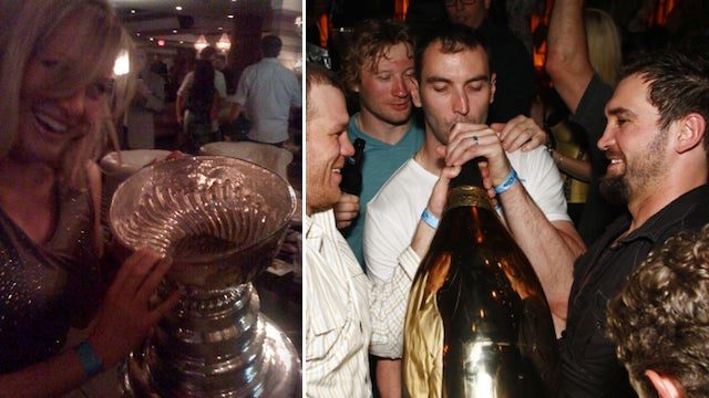 We've Found The Lass Responsible For The Lone Amstel Light On The Bruins' $156,000 Bar Tab