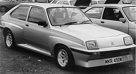 The Most Badical Chevette Ever? Vauxhall HSR