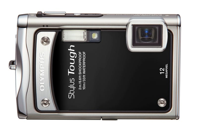 Olympus Stylus Tough-8000 Camera Has a Blunt Name, can Survive Blunt Force