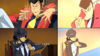 <i>Lupin the Third, </i>A Visual Comparison