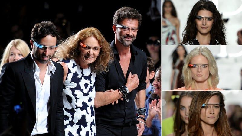 Diane Von Furstenberg Unveils Google Glasses