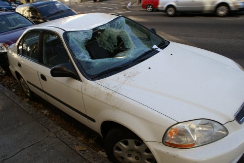 Mysterious Smashed Civic Found On San Francisco Streets