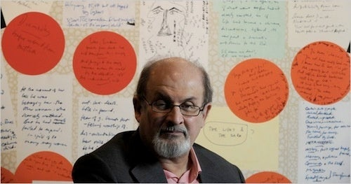 Walking in Salman Rushdie's Digital Footsteps