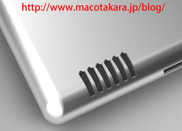 iPad 2 Rumor: Bigger Speaker, Flatter Back, Very Slightly Smaller?