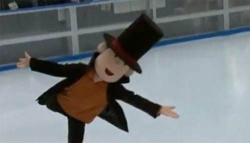 Professor Layton...On Ice!