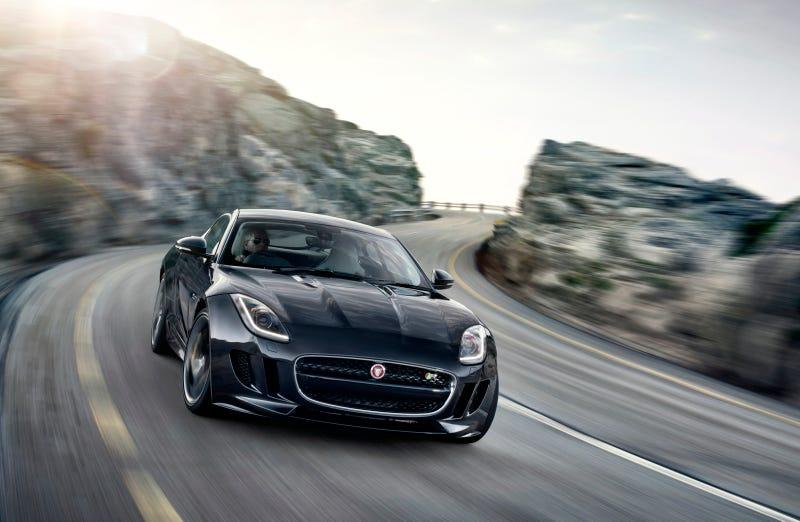 Jaguar F-Type Coupe Joins Jaguar lineup