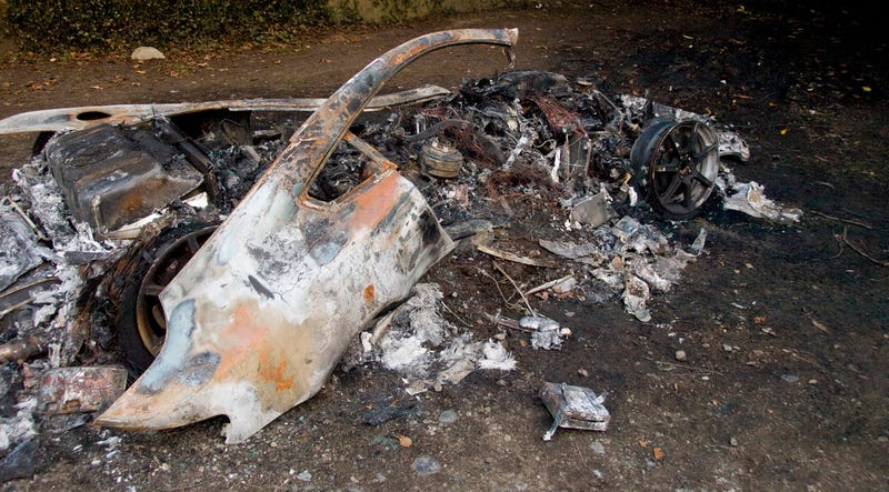 This Melted Aston Martin Looks Like A Work Of Art