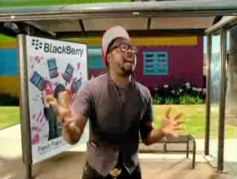 Will.I.Am's New Video/BlackBerry Ad Shows the Price of Stealing Music