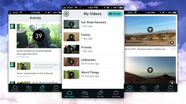 Cloudee Is the Simplest Way to Share Videos on Your iPhone