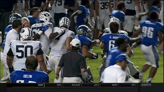 Double-OT Miami Beach Bowl Ends In All-Out Fight Between BYU & Memphis