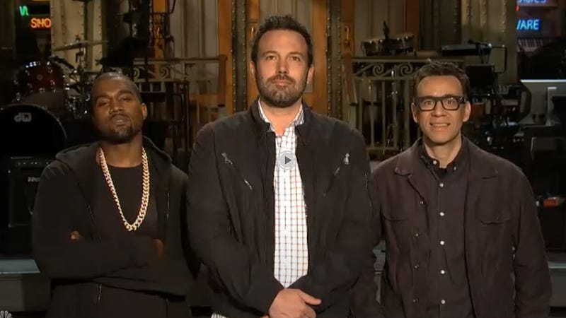 Kanye West Completely Unamused by SNL Promo
