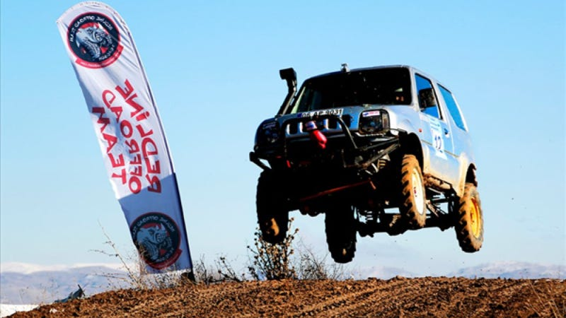Off-Road Championship Raging In Turkey's Capital City This Weekend
