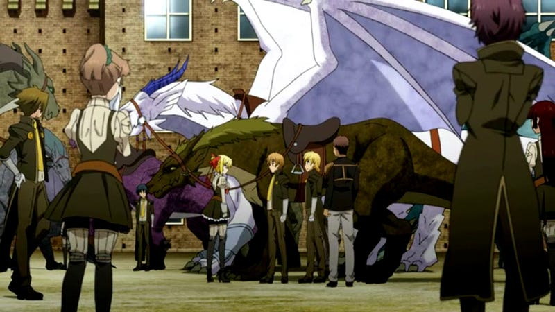 Dragonar Academy is Fanservice Schlock ...But it Has Dragons, You Guys