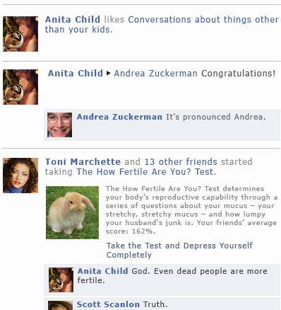 What Your Facebook Feed Looks Like When All Your Friends Have Babies