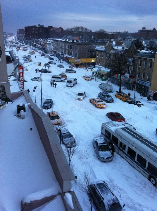 New York Looks Like Snow Zombieland—But It's Nothing Compared to Japan