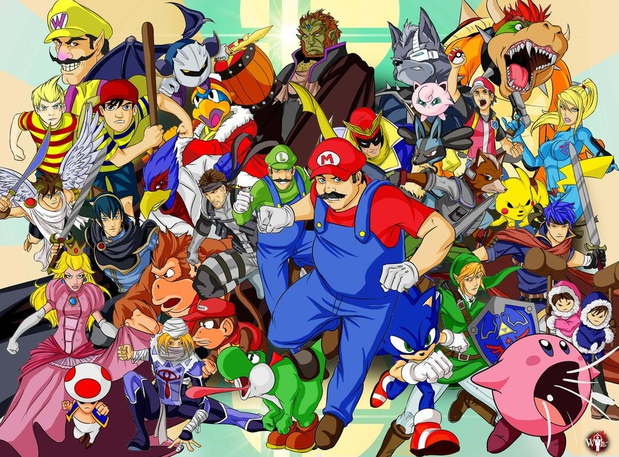 super smash bros brawl coloring pages kids coloring pages. super ...
