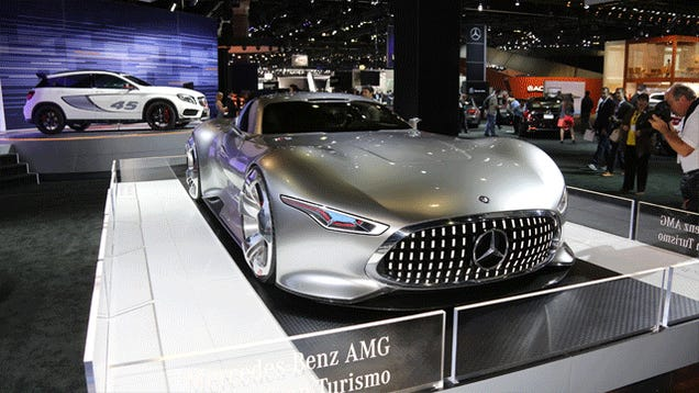 Here's The Mercedes Gran Turismo Vision In 360 View