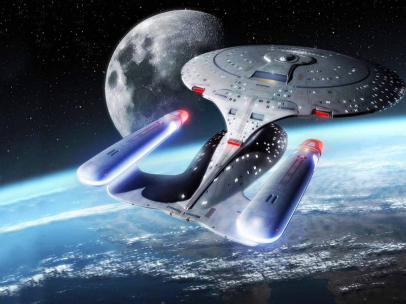 Is it realistic to think that the future will be like Star Trek?