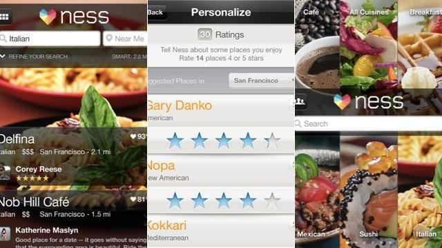 Ness for iPhone Helps You Pick Restaurants Without the Annoying Reviewers