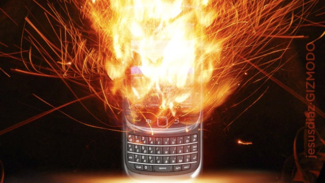 RIM in Crisis as a Billion Dollars of BlackBerries and PlayBooks Sit Unsold