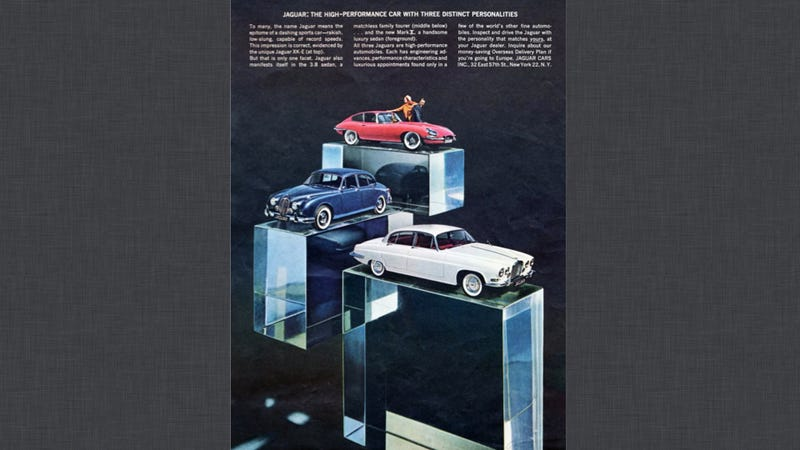 Jaguar Ads Are A Gallery For Fine Cars