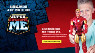 Get a Marvel figure with your Face - Unless you want a Female hero