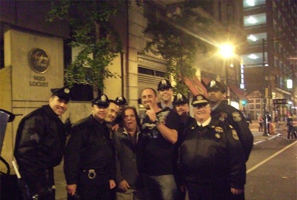 Brett Myers and The Philadelphia Police Department Welcome you To Watch Monday Night Football With Them