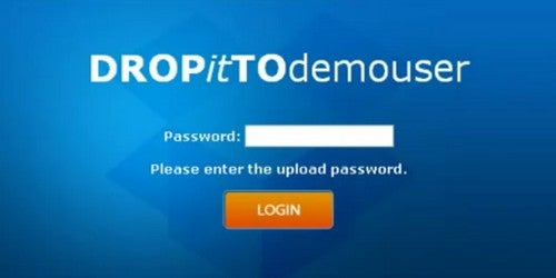 DROPitTOme Is a Password-Protected Portal for Public Dropbox Uploads