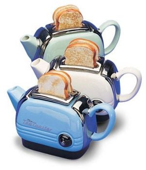 All-in-One Breakfast With the Toaster Teapot