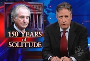 The Daily Show Exposes Bernie Madoff's Prison Handjob Ponzi Scheme
