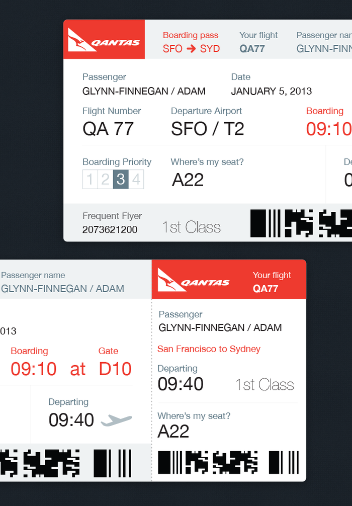 A Better Boarding Pass: Rethinking One of the Worst Design Offenders