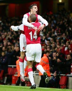 Hirshey: On The Scene For A Huge Arsenal Triumph