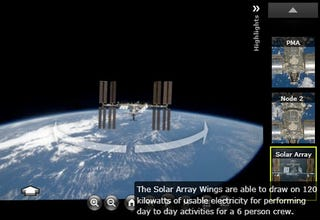 NASA Giving Photosynth Tours of International Space Station