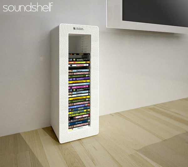 Speaker Shelves and Storage Units Provide More Than Just Surround Sound