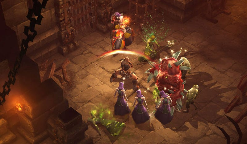 Diablo III Seeks Hardcore Monster Encounters