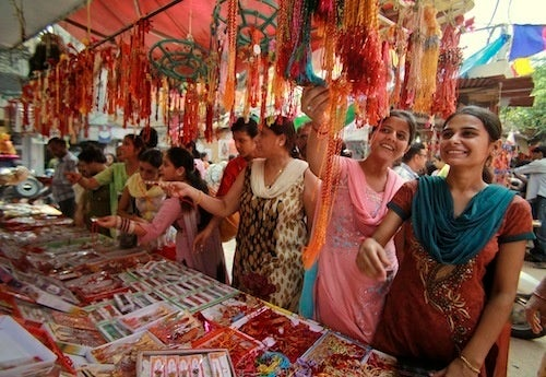 Shopping For Fresh Threads In India