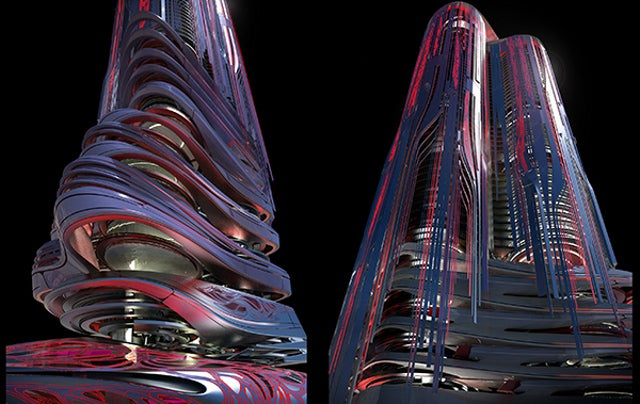 Hong Kong's PleXus Tower Looks Like Something Right Out Of Tron