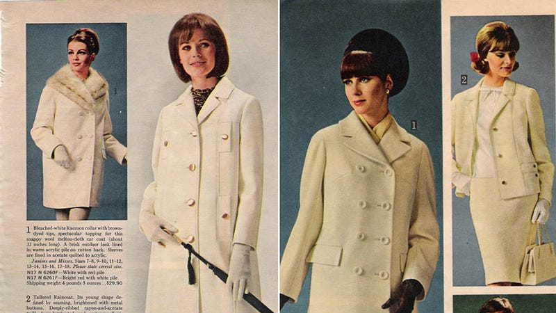 Let's Shop for Fabulous Fall Coats in 1964