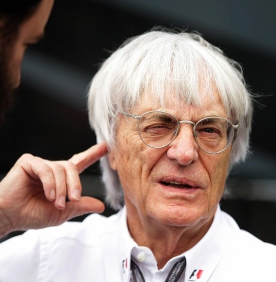 F1 Boss Bernie Ecclestone Says Democracy Bad, Hitler And Saddam OK