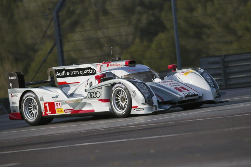 Audi Will Attack Le Mans With Long-Tail R18 e-trons