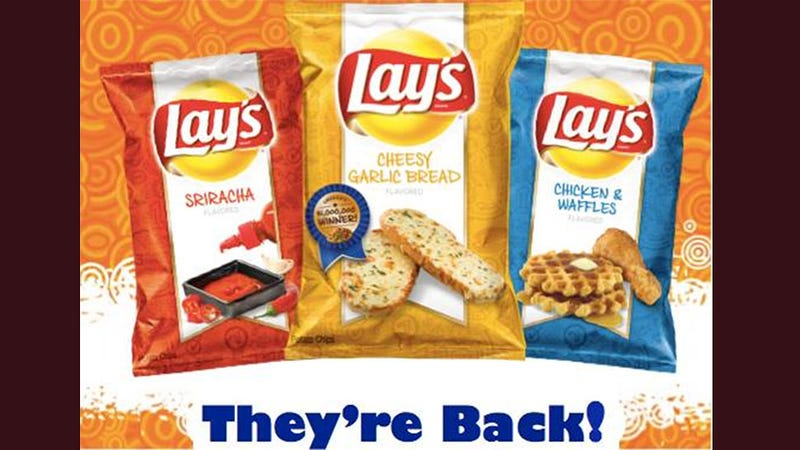 Lay's Special Chip Flavors Return As If Nothing Happened. Jerks.