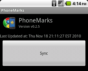 PhoneMarks Lets You Manage Android's Bookmarks in Chrome