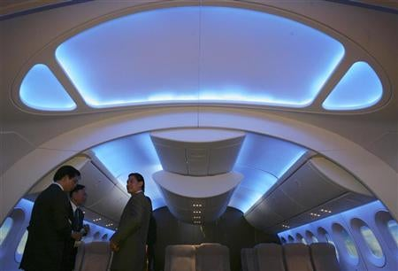 The Interior of the Boeing 747 Intercontinental